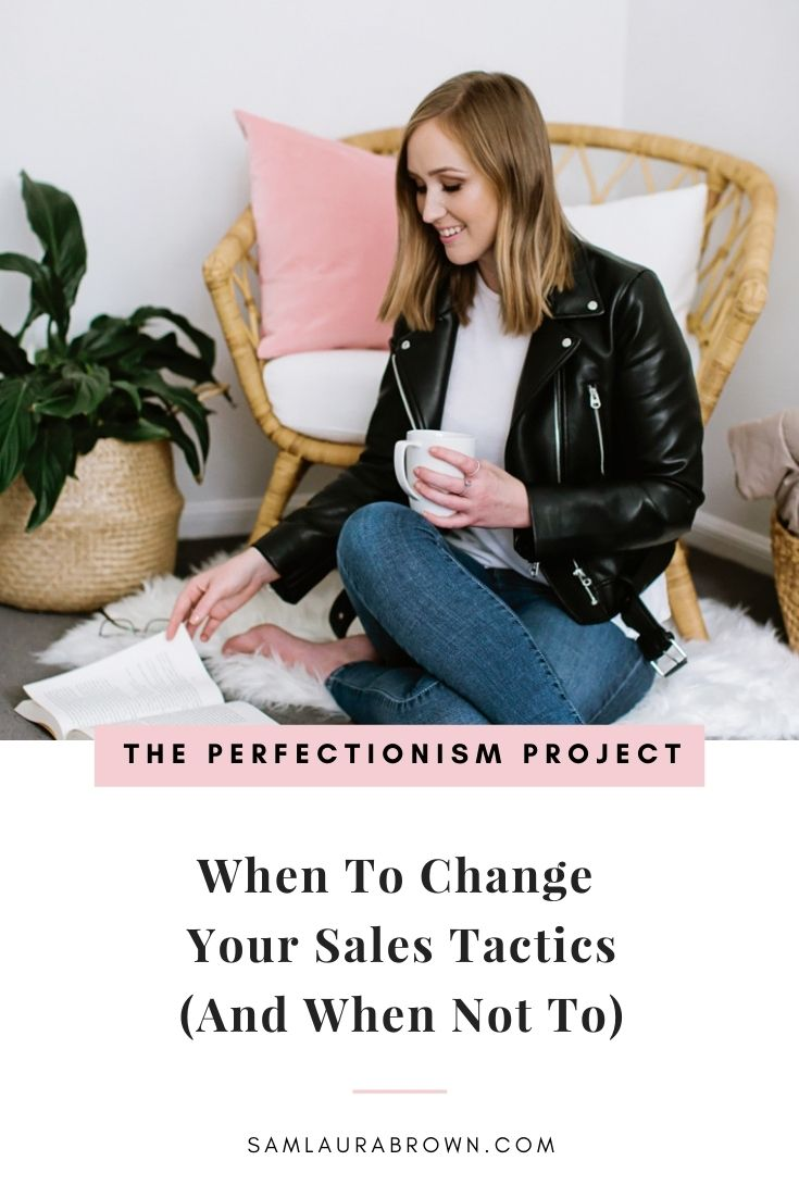 Is your sales tactic the reason you aren't booking out your coaching services? Tune in to find out why your sales tactic may not be to blame - and what to do before you pivot and change your strategy.