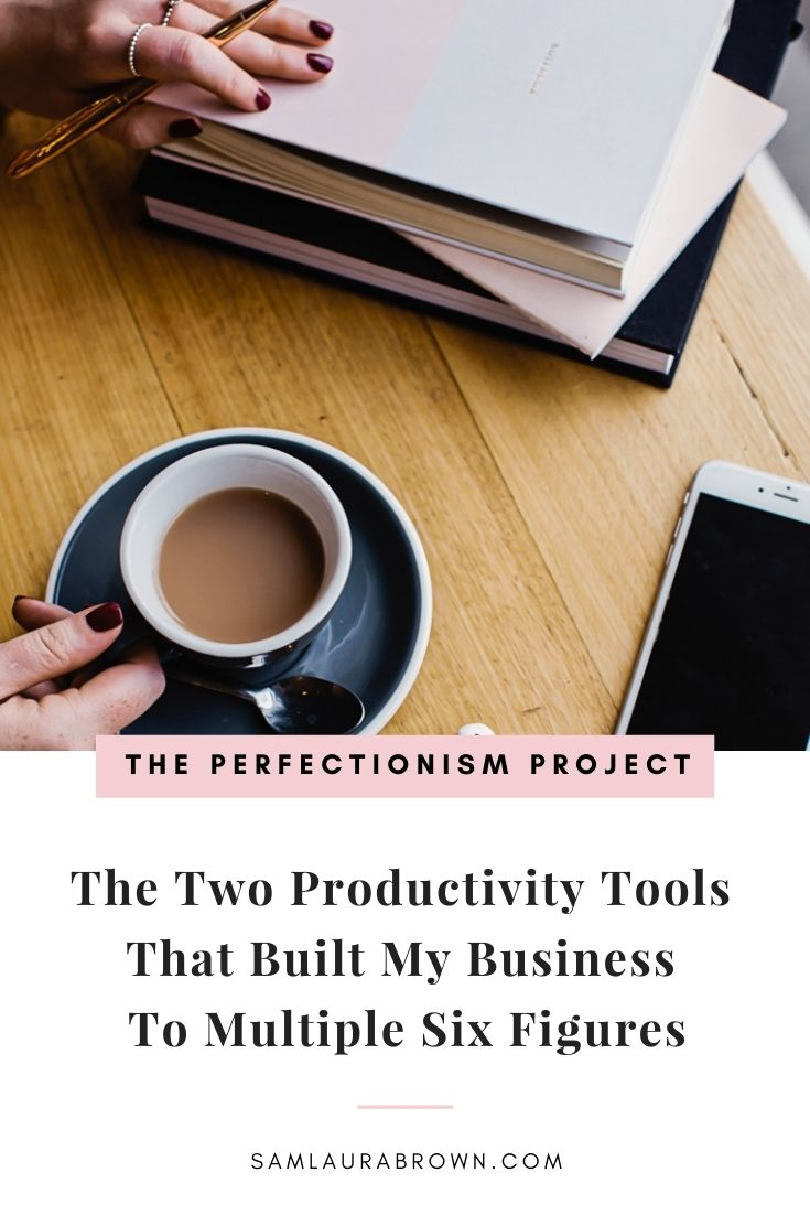 Perfectionists often struggle with productivity, overwhelm, never having enough time for everything and burnout. Listen to today's episode because I'm sharing the two productivity tools that helped me build a multiple six figure business without burnout.