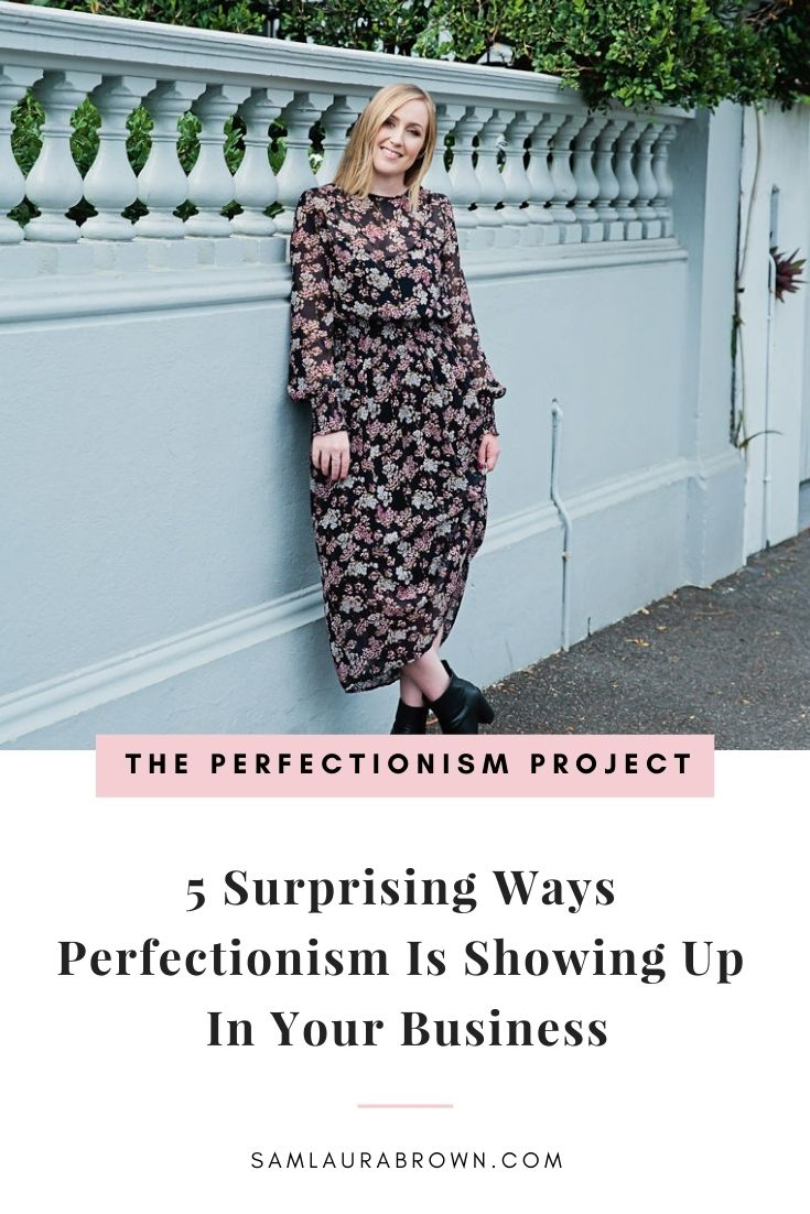 Is perfectionism showing up in your business in any of these five surprising ways? I really want you to tune into this episode today and check-in with yourself. I'm sharing how I got my perfectionist mindset to work for me and how you can too.