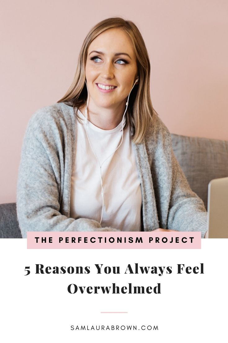 Tune into today's episode because I'm sharing the 5 reasons you always feel overwhelmed. I'm also chatting about where your overwhelm actually comes from. And what you can do to get out of always feeling overwhelmed quickly and easily.