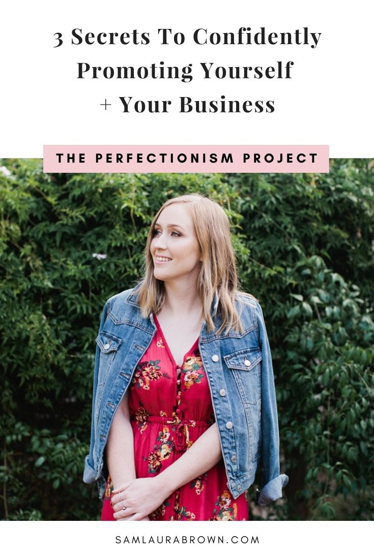 If you're struggling to confidently promote yourself and your business, today's episode will help you out. I'm sharing 3 secrets that I use and you can too to help you confidently put yourself out there and promote your business.